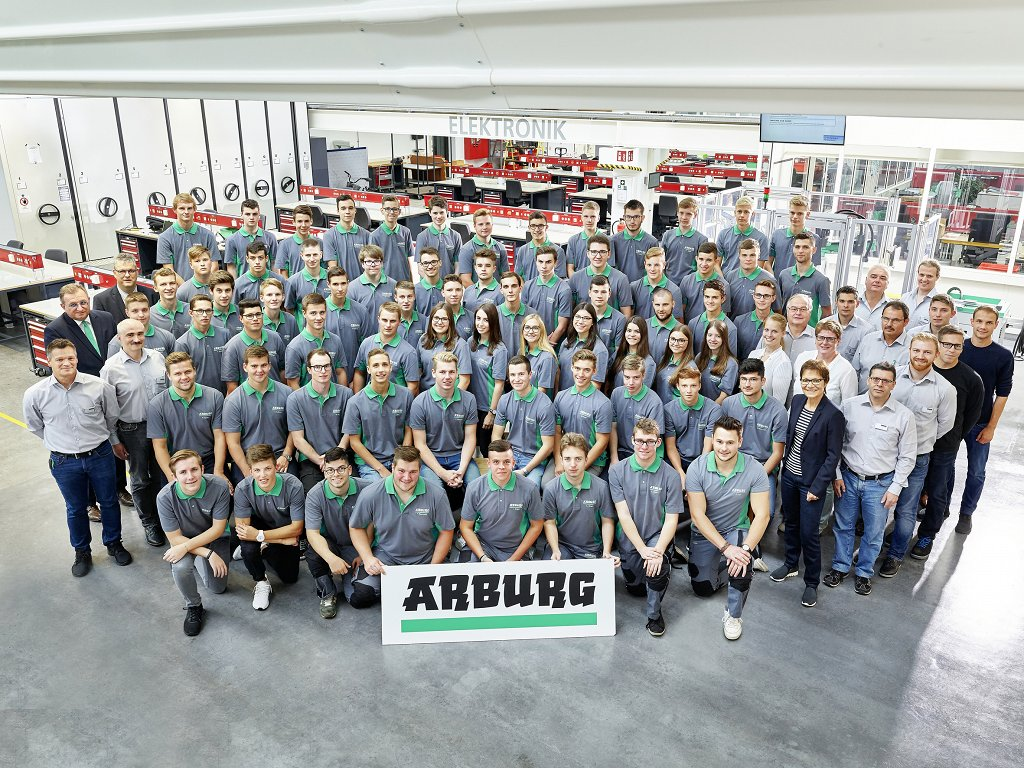 Arburg: Start of training year 2018 marks new record - News - eng
